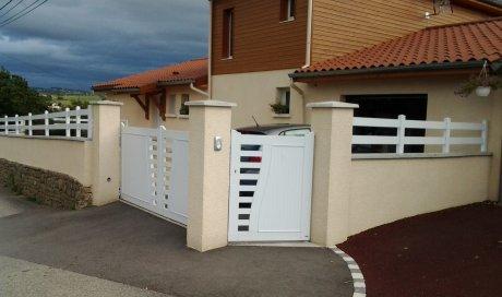 Portail et Clôture PVC à Monistrol-sur-Loire et sa région, FPSM