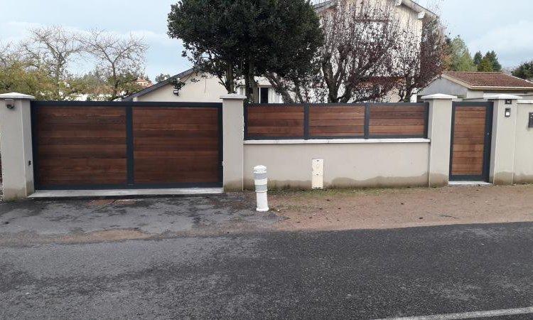 FPSM Pose de portail Monistrol-sur-Loire
